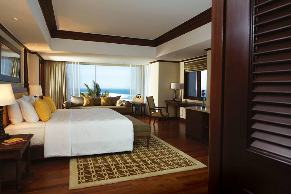 Dengan paket ini kamar bisa di-upgrade ke tipe Ocean View.