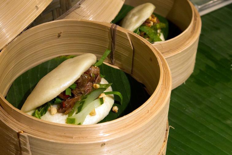Gua Bao, burger sederhana khas Taiwan.