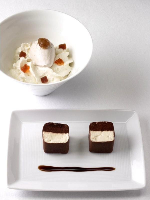 Makanan pencuci mulut kreasi Michel Sarran.