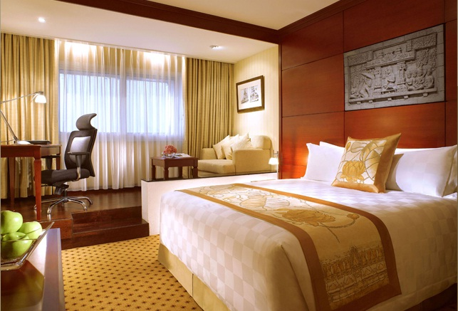 Kamar Executive Room dengan amenity prima.