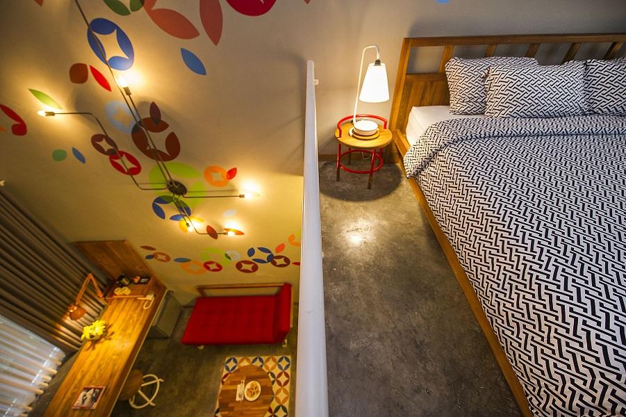Kamar Tipe B, tipe kamar paling luas di Hotel Lokal.