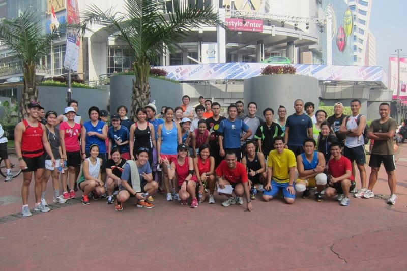 Komunitas Indo Runners terbentuk dari aktivitas olahraga di ibu kota.