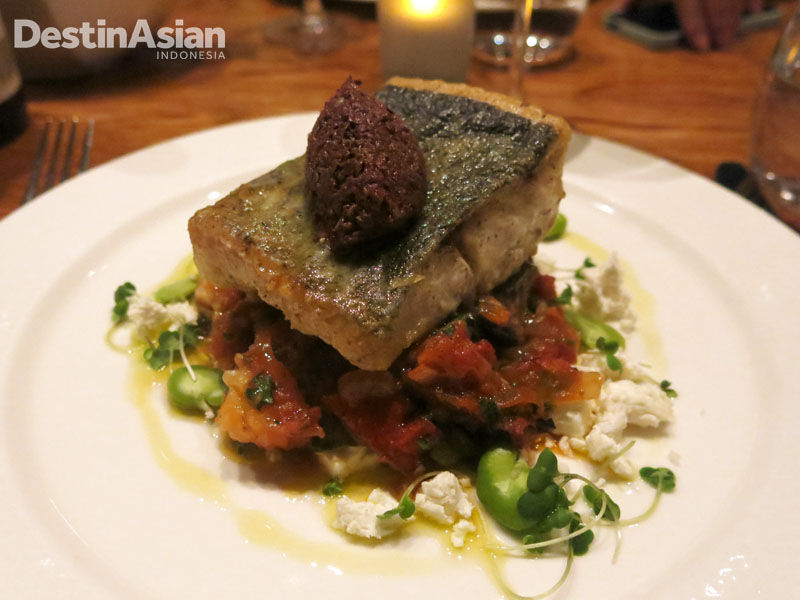 Dapur Chris's Beacon Point menawarkan hidangan seafood lezat. (Foto: Reza Idris)