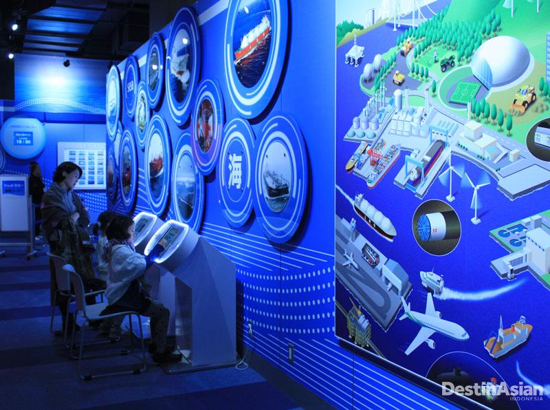 Selain koleksi bersejarah, Kawasaki Good Times World juga menyajikan area edukasi.