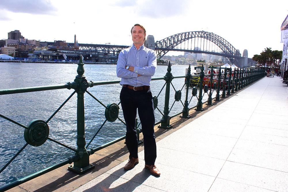 Tim Gundry, ingin menjembatani pemilik kapal dan calon konsumen.