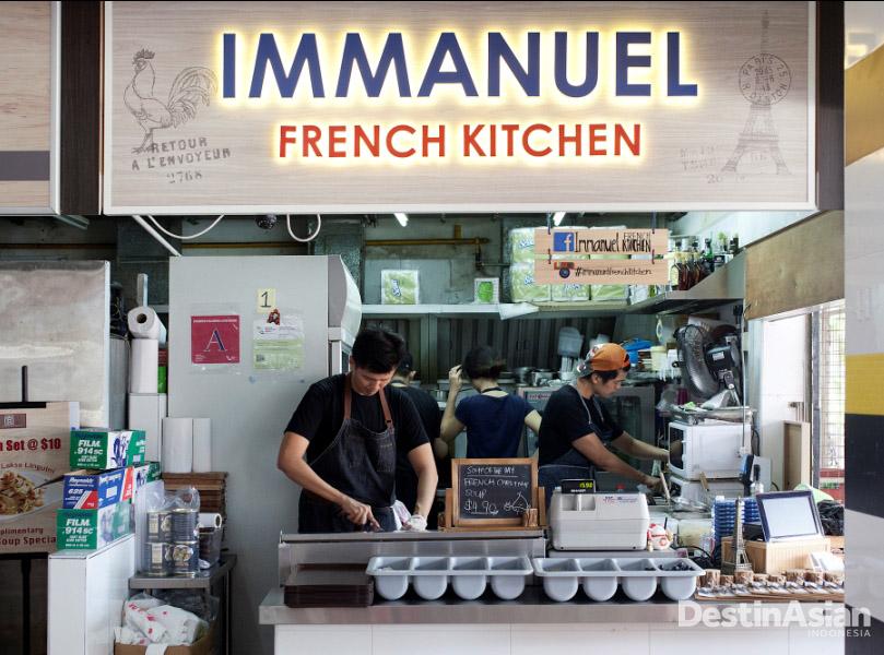 Immanuel French Kitchen menyajikan menu Prancis klasik.
