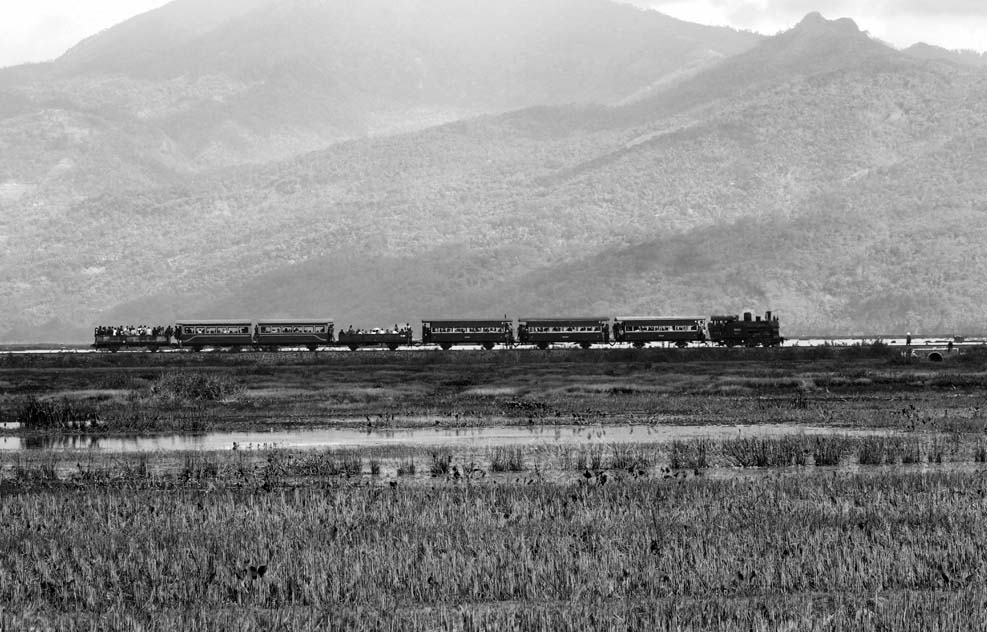 Kereta api di Ambara, salah satu museum kereta api di Indonesia. (Foto: PT KAI)