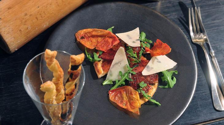 Tomato Tart, hidangan yang terinspirasi piza.