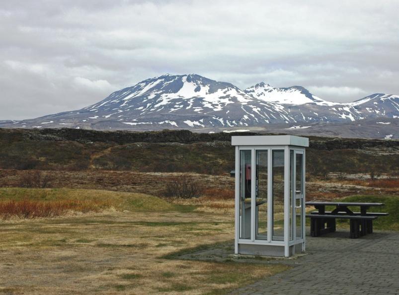 Panorama di Islandia. Negara ini selama delapan tahun menyabet gelar negara teraman di dunia dari GPI.