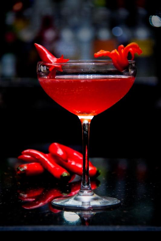 Jage Cabe, koktail berbahan dasar cabai yang bisa dipelajari di The Art of Cocktail.