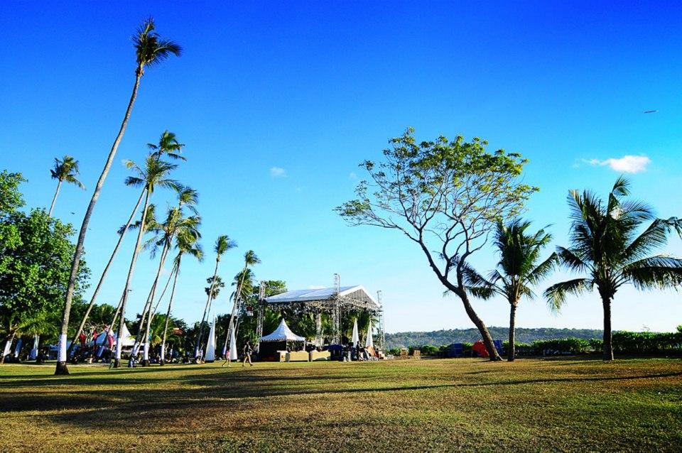 Panggung Jimbaran Bay Jazz Festival.