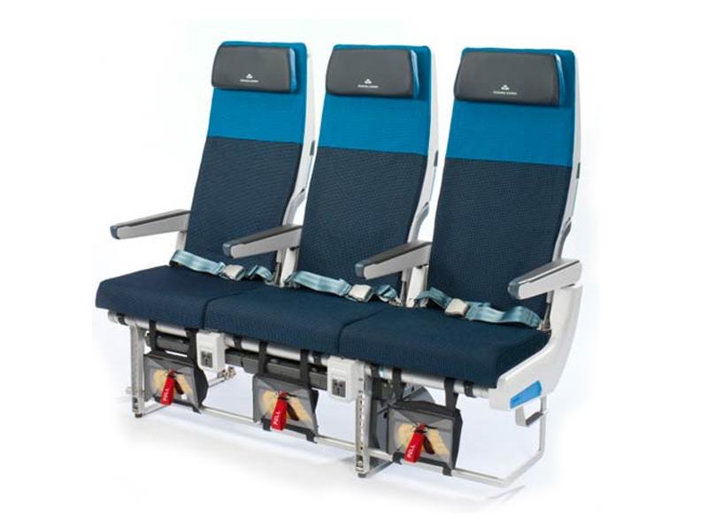 Kursi baru KLM bakal lebih ramping. Sekilas mirip kursi maskapai bujet.