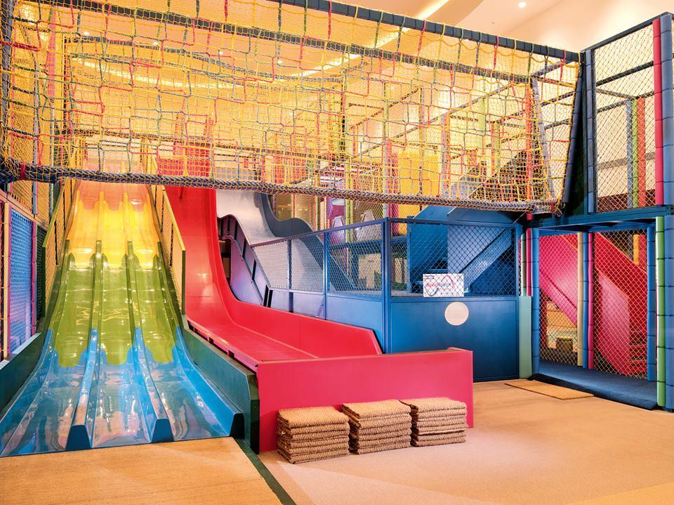 Arena permainan anak-anak, Adventure Zone, di Kerry Hotel, Beijing.