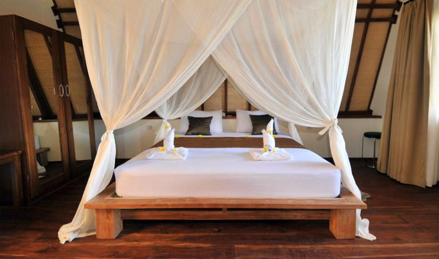 Kamar di Komodo Resort.
