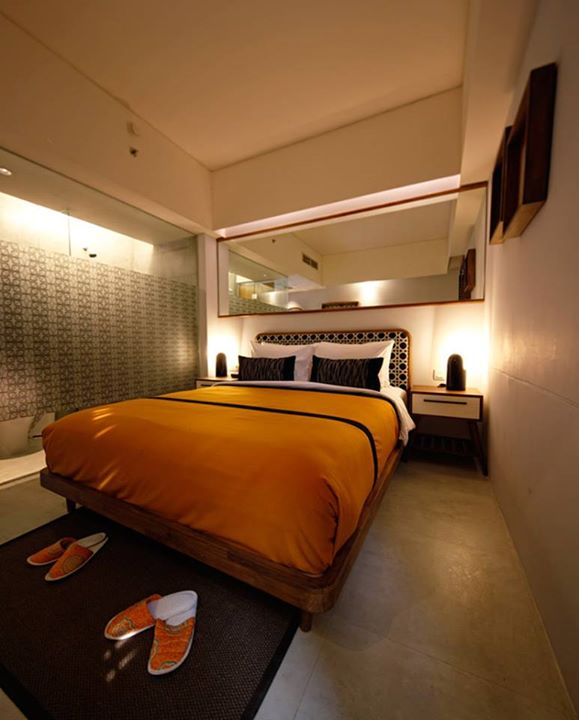 Kamar di Hotel Kosenda. Penginapan ini bersanding dengan Morrissey sebagai salah satu hotel independen yang masuk ke daftar tersebut.