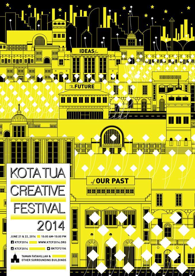 Kota Tua Creative Festival 2014 akan digelar selama dua hari.