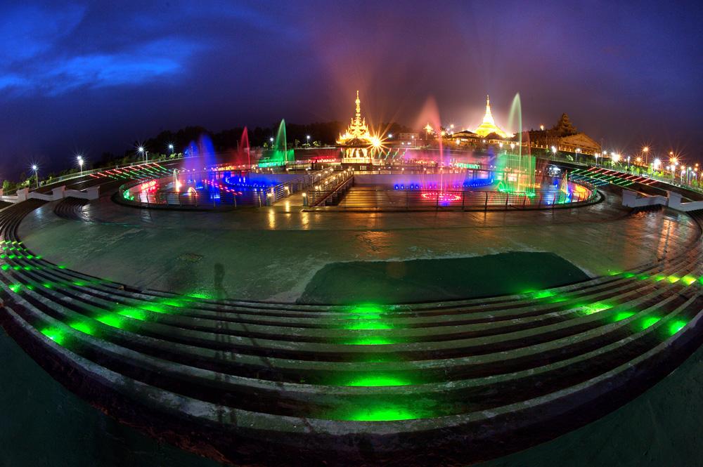Warna-warni kota Naypyidaw. Foto: Kementerian Pariwisata Myanmar.