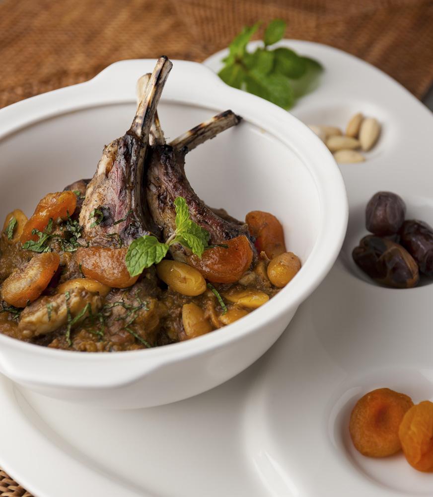 Koki Vindex Tengker akan menyajikan Lamb Tajine.
