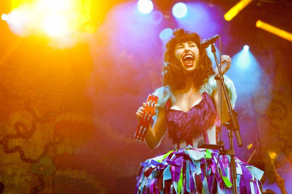 Penampilan Kimbra di Laneway Festival Singapura tahun 2013. Foto: Ryan Chang/Chugg Entertainment.
