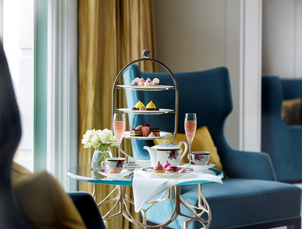 Properti Langham di seluruh dunia terkenal dengan sesi afternoon tea-nya, tak terkecuali di The Langham Sydney yang digelar di Palm Tree.