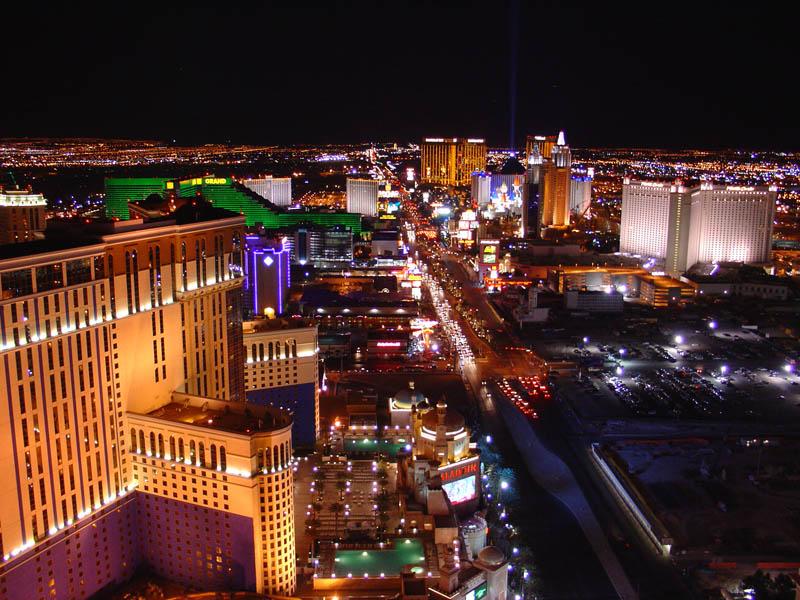 Las Vegas, salah satu magnet turis di Amerika Serikat.