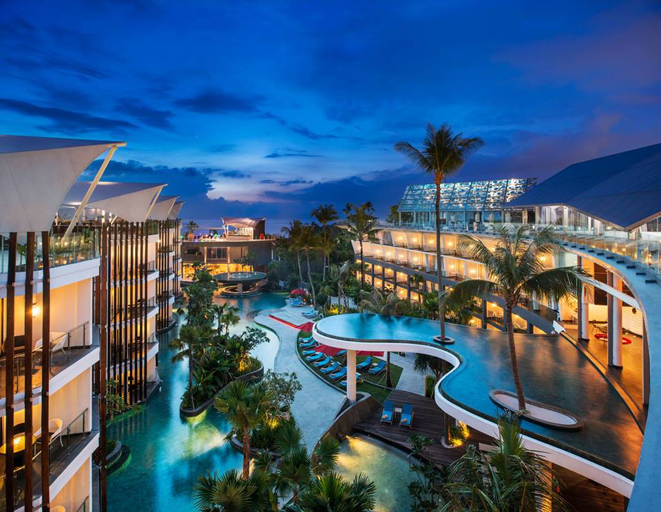 Hotel Le Meredien Jimbaran, Bali.