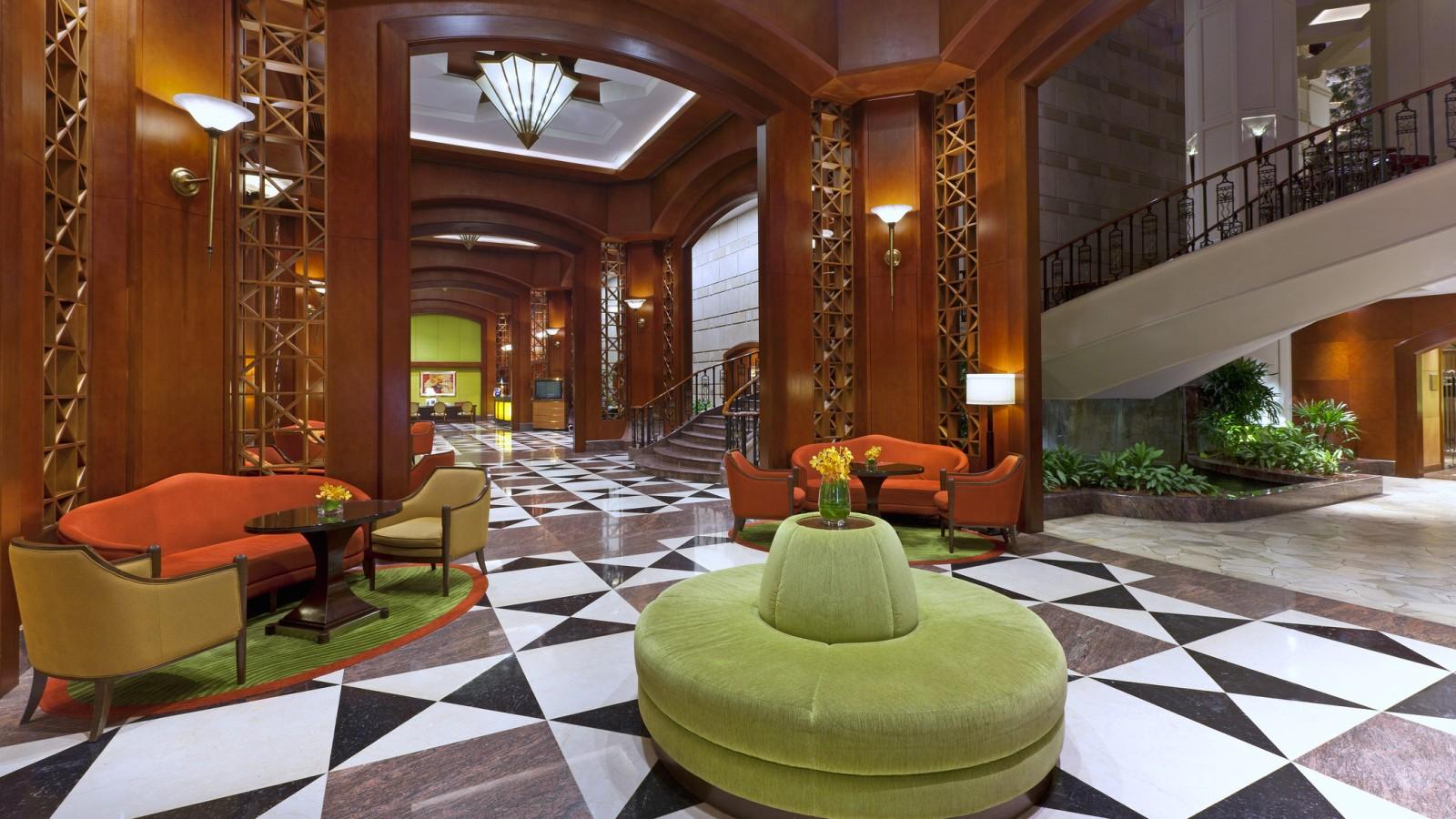 Lobi Sheraton Imperial Kuala Lumpur.