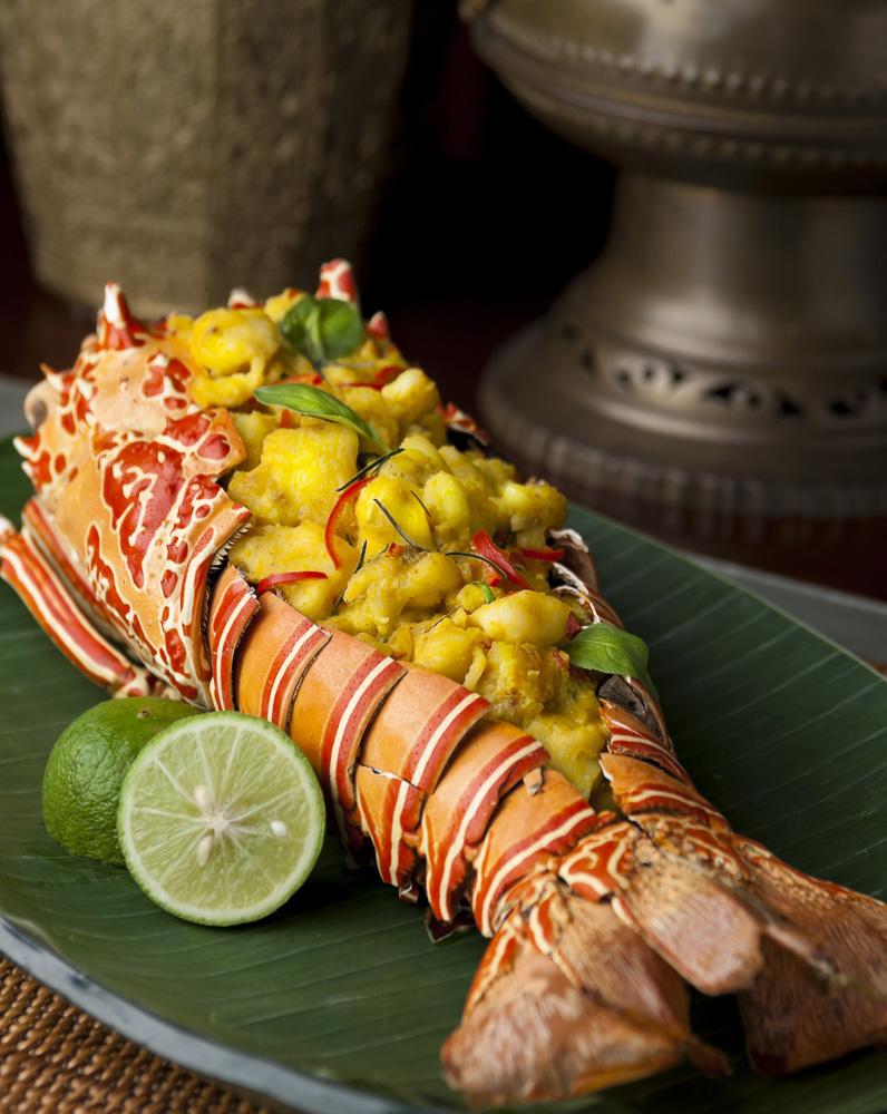 Lobster Bunaken dengan cita rasa gurih kreasi koki Vindex Tengker.