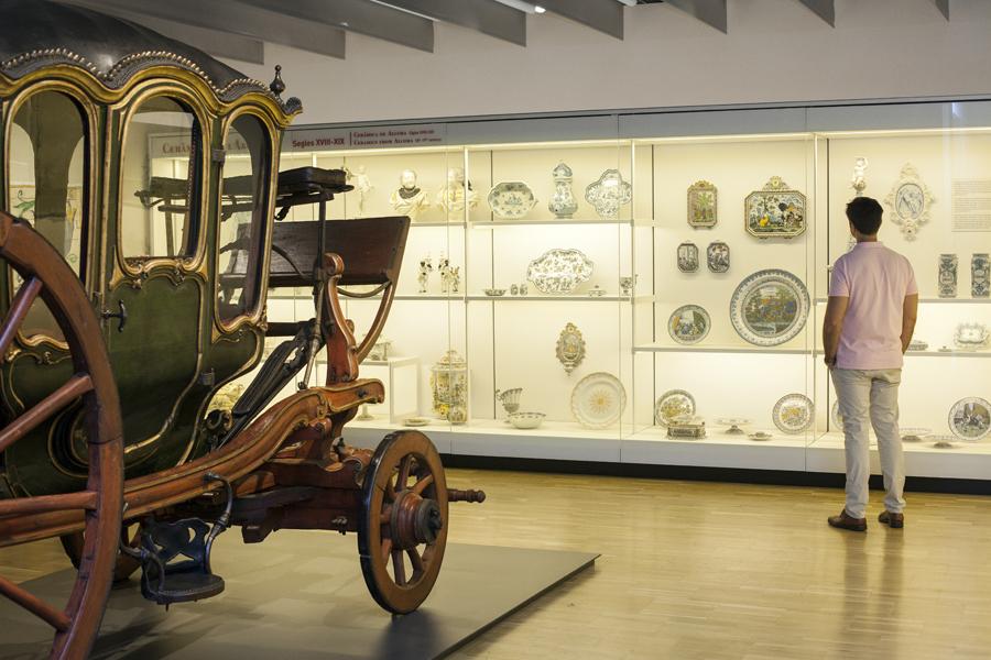 Museu del Disseny merupakan gabungan empat museum dan terdiri dari empat lantai.