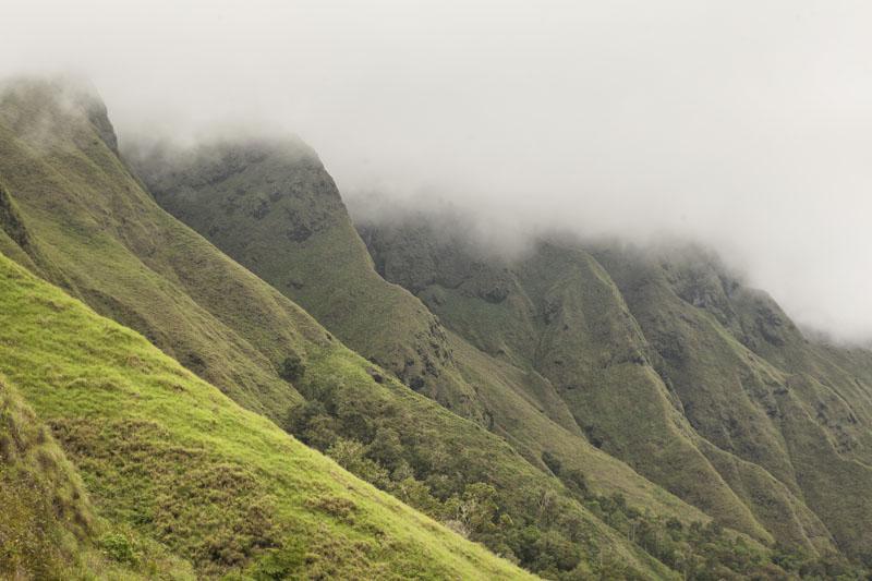 Lanskap magis Gunung Rinjani.