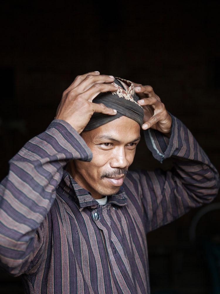 Mardiyat, pemilik sekaligus kusir delman di Desa Candirejo.