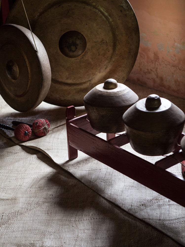 Gamelan yang terdapat di rumah penduduk di Desa Candirejo yang disulap menjadi tempat homestay.