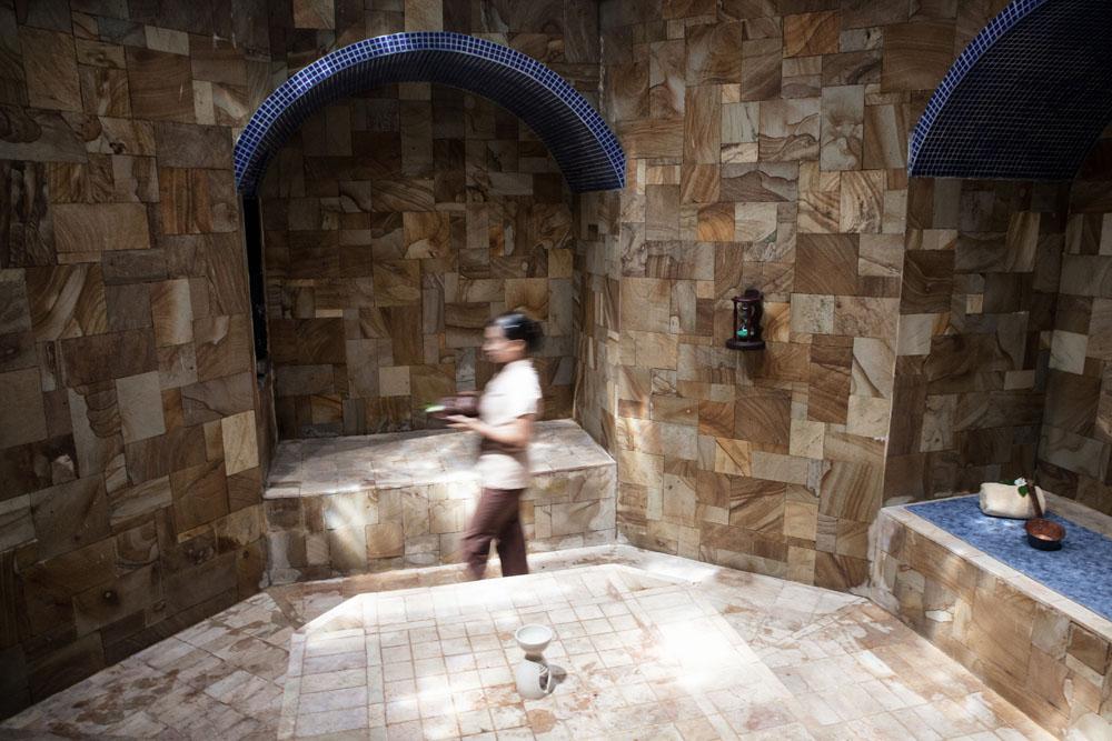 Spa hammam yang menjadi salah satu fasilitas andalan MesaStila.