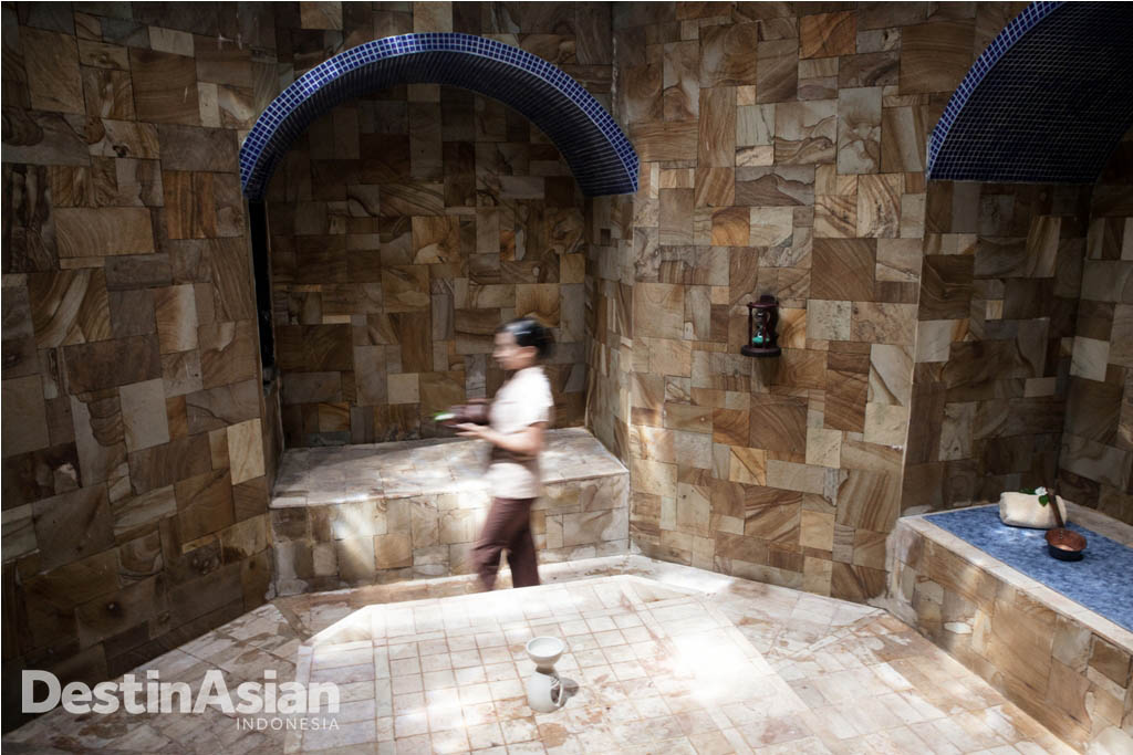 Fasilitas hammam atau Turkish Bath di MesaStila.