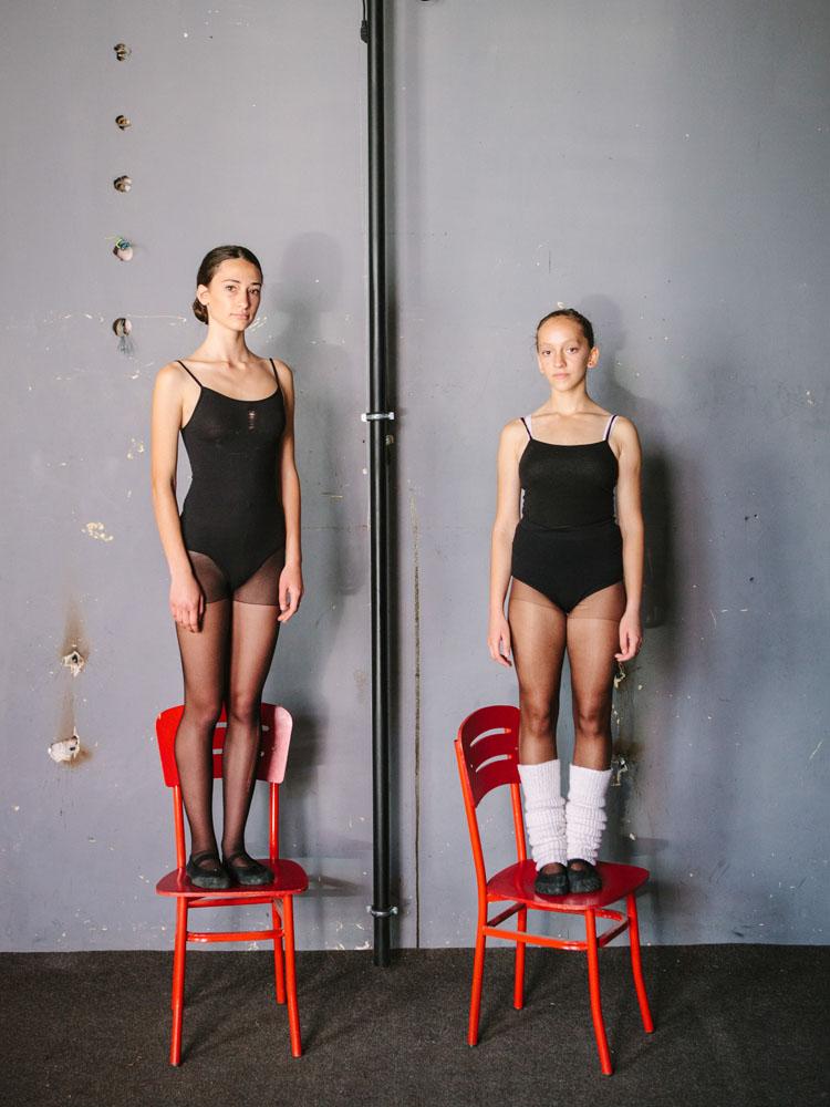 Bibit-bibit muda Balet Nasional Kosovo.
