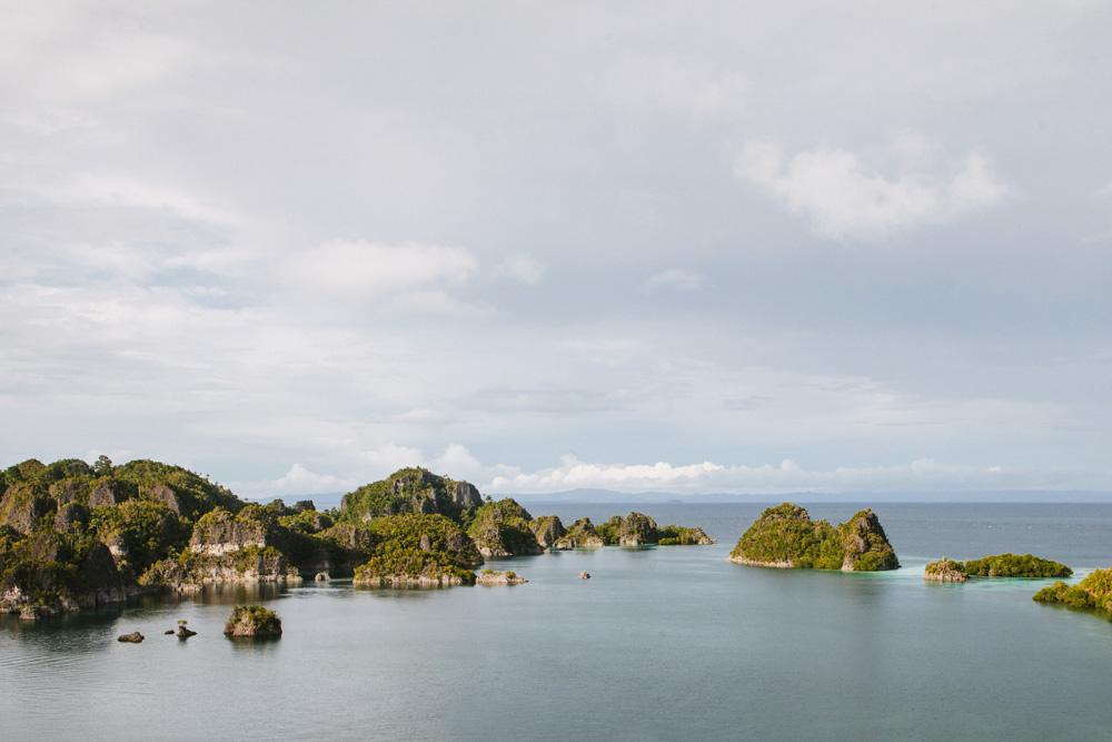 Pulau Penemu, salah satu pulau di Raja Ampat.