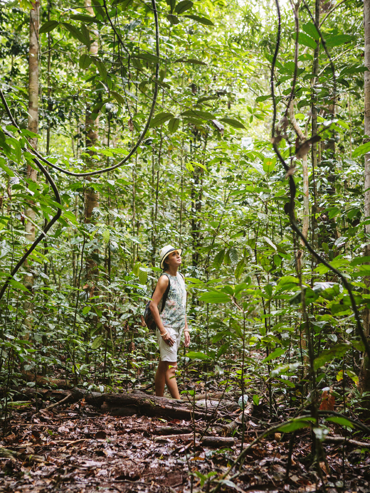 Trekking dan birdwatching di Pulau Gam.