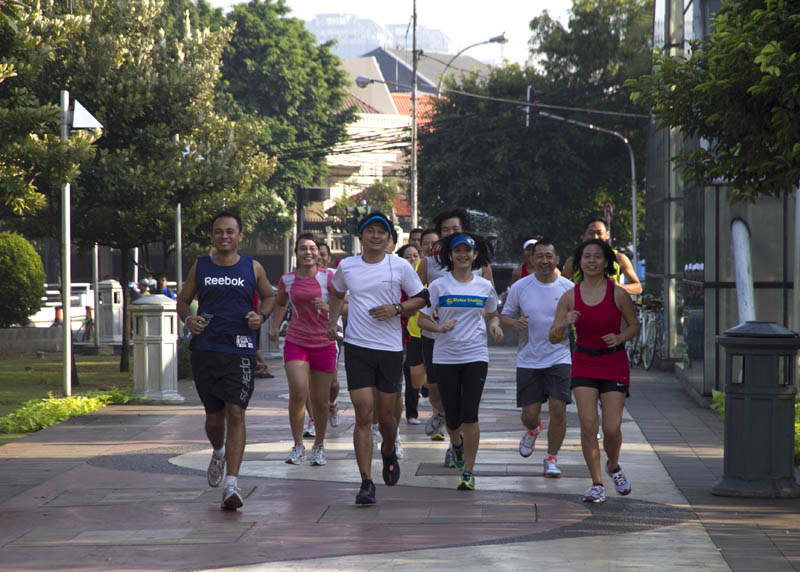 Dari komunitas olah raga, Indo Runners berkembang menjadi komunitas jalan-jalan dengan agenda mengikuti lomba lari di negeri orang.