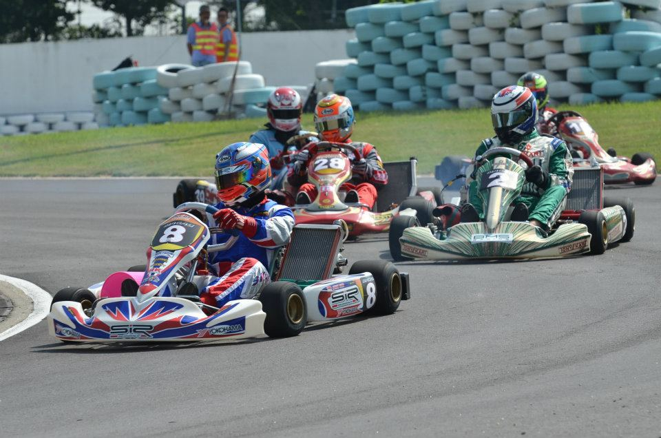 Gokart juga diperlombakan di bawah Asian Karting Open Championship.