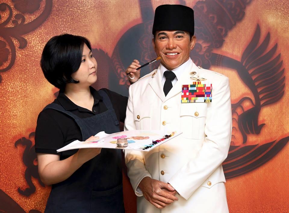 Patung lilin Presiden Soekarno menjadi koleksi terbaru Museum Madame Tussauds Hong Kong.