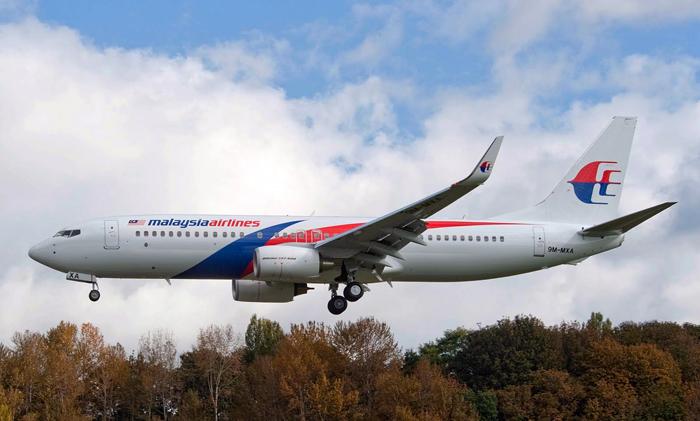 Armada Boeing 737-800 milik Malaysia Airlines.