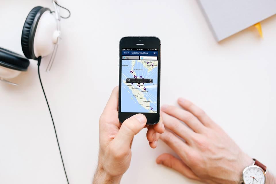 Proses check-in mandiri bisa dilakukan melalui situs Malaysia Airlines atau aplikasi MH Mobile.