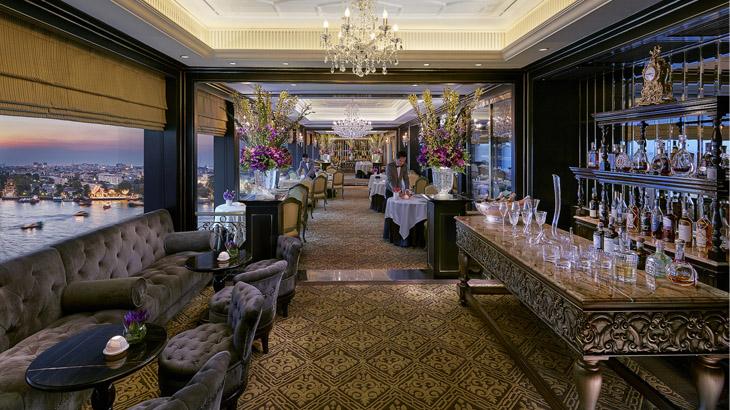 Restoran Le Normandie usai menjalani peremajaan.