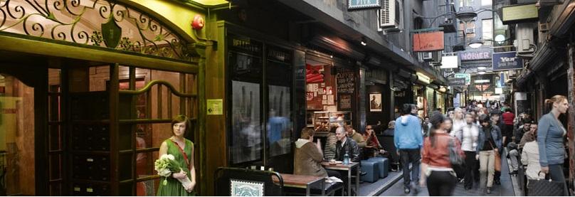 Kafe-kafe di Melbourne siap memanjakan para turis.