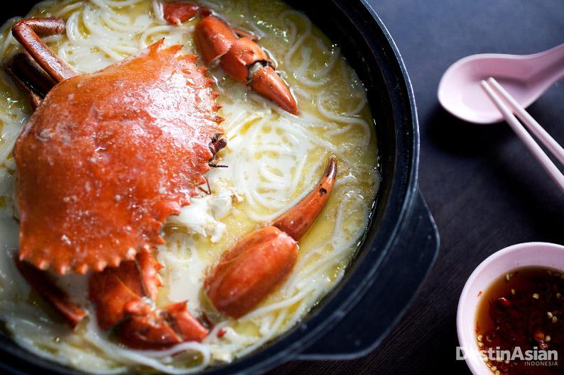 Mellben Seafood, salah satu restoran seafood populer di Singapura.