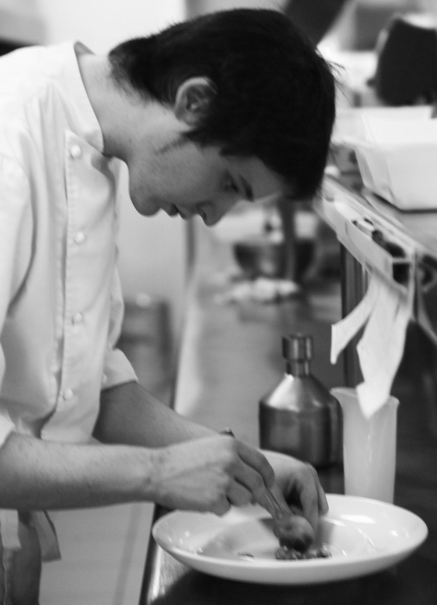 Pere Massana, koki muda dengan karir gemilang.