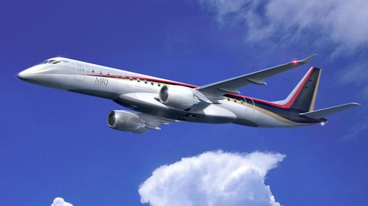 MRJ mengusung desain ramping layaknya Bombardier dan Embraer.