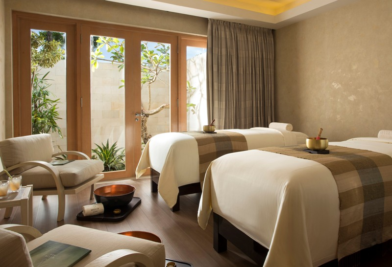 Ruang perawatan di The Mulia, Mulia Resort & Villas.