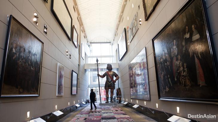 Koleksi impresif di Amsterdam Museum.