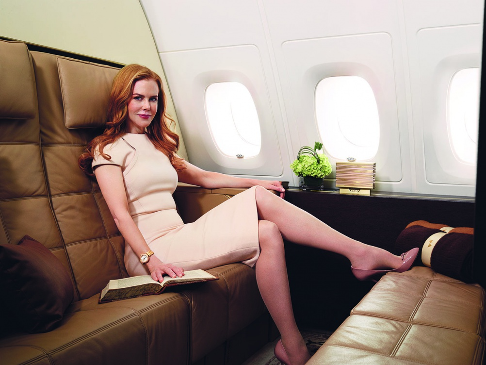 Nicole Kidman akan bertugas mempromosikan Etihad Airways di pasar global.